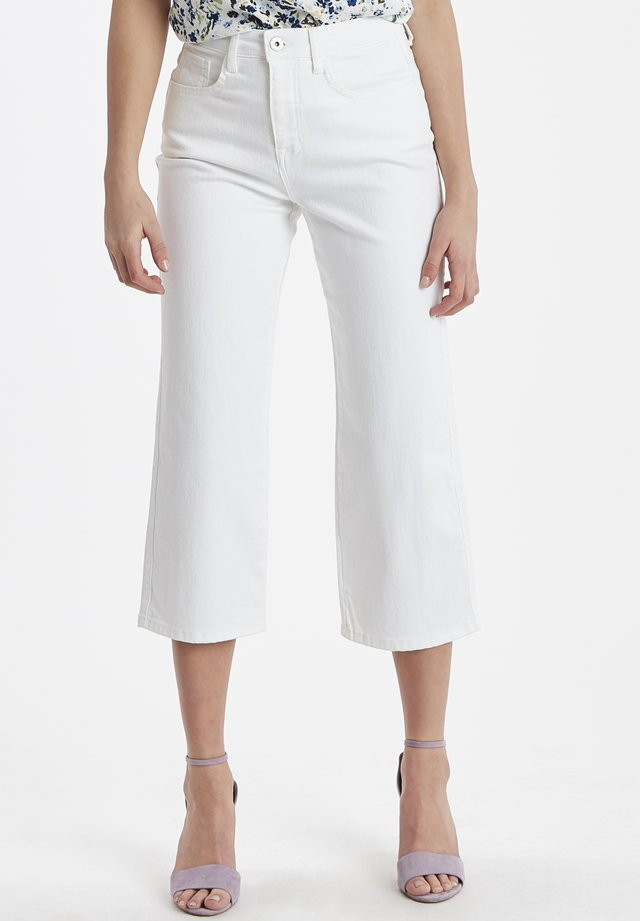 IHGESTO - Trousers - white