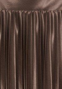 ICHI - IXPLEAT SK - A-lijn rok - brown - 4