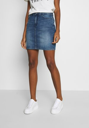 TWIGGY - Denimová sukně - medium blue