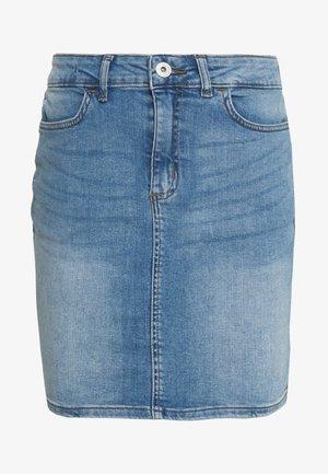 TWIGGY - Denimová sukně - light blue
