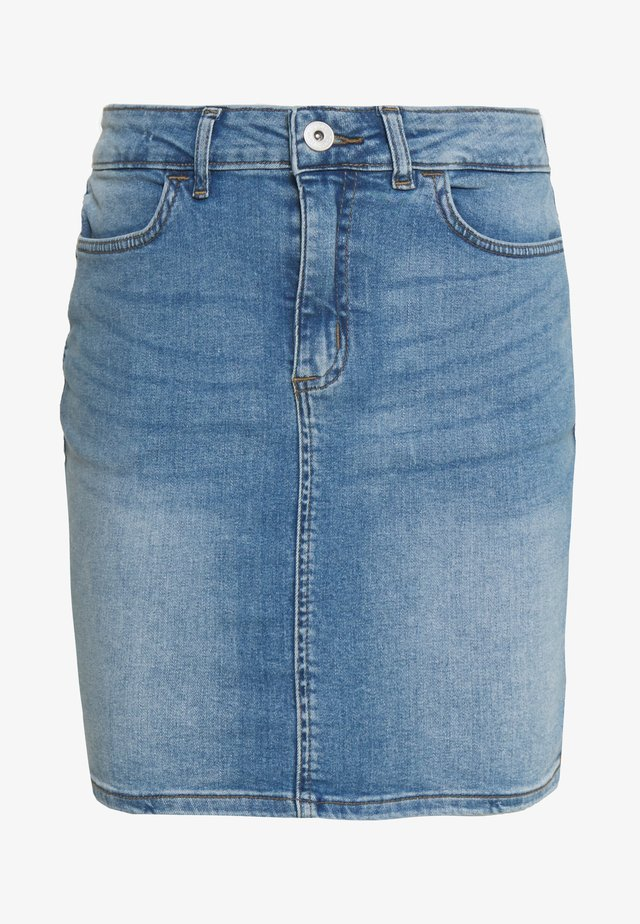 TWIGGY - Denim skirt - light blue