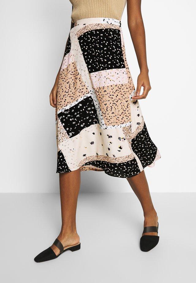 IHDAPHNIE  - Áčková sukně - natural