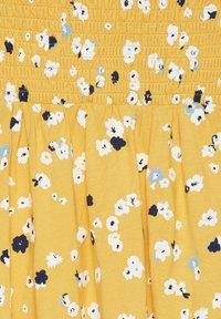 ICHI - IHLISA - A-line skirt - buff yellow - 5
