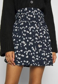 ICHI - IHLISA - A-line skirt - cool blue - 4