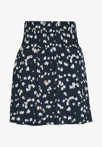ICHI - IHLISA - A-line skirt - cool blue - 3