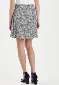 ICHI - IHLISA - A-line skirt - black - 2