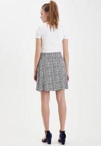 ICHI - IHLISA - A-line skirt - black - 3