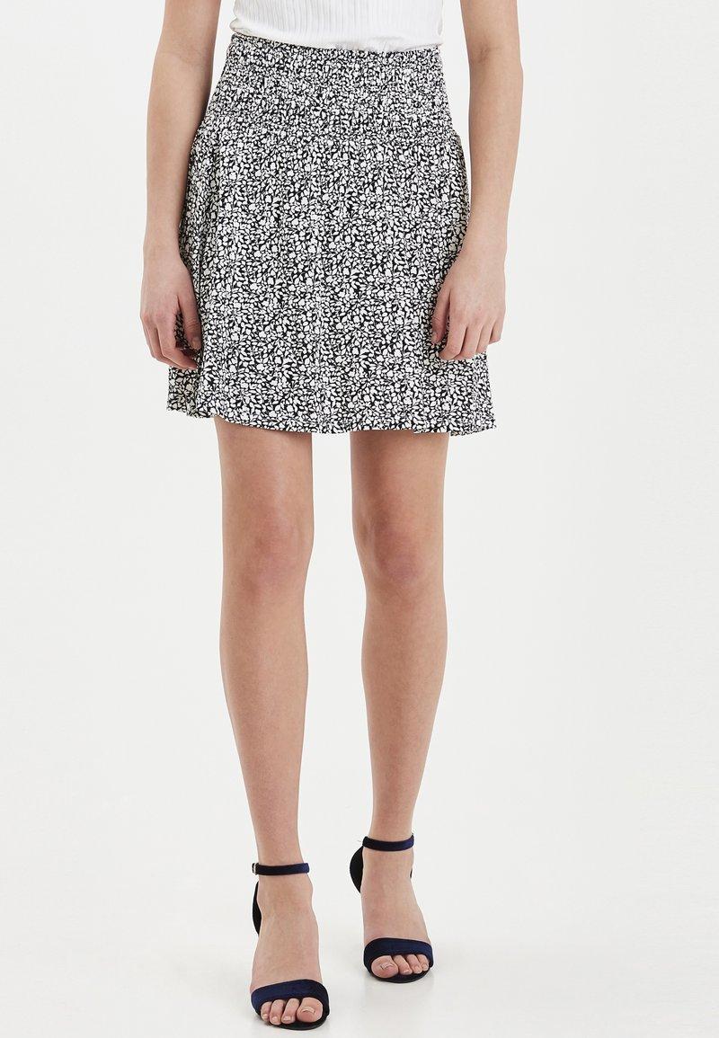 ICHI - IHLISA - A-line skirt - black