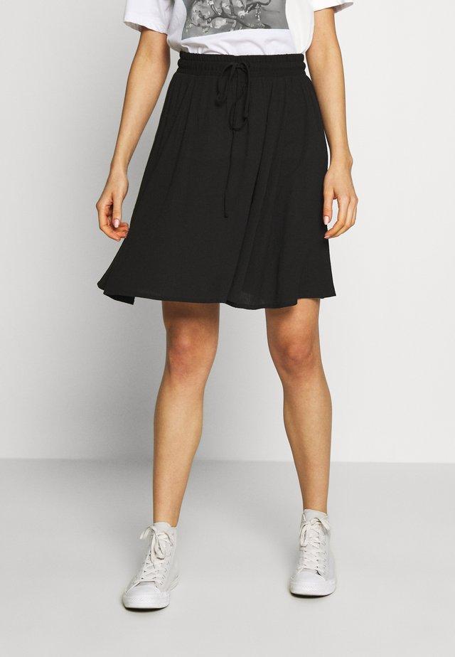 IHMARRO - A-snit nederdel/ A-formede nederdele - black