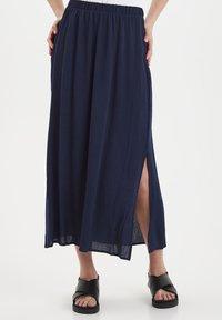 ICHI - IHMARRAKECH - Pleated skirt - total eclipse - 0