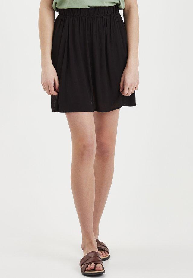 IHMARRAKECH - Pliceret nederdel /Nederdele med folder - black