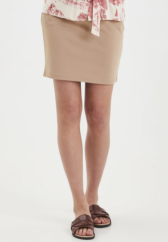 IHKATE SK - Blyantnederdel / pencil skirts - natural