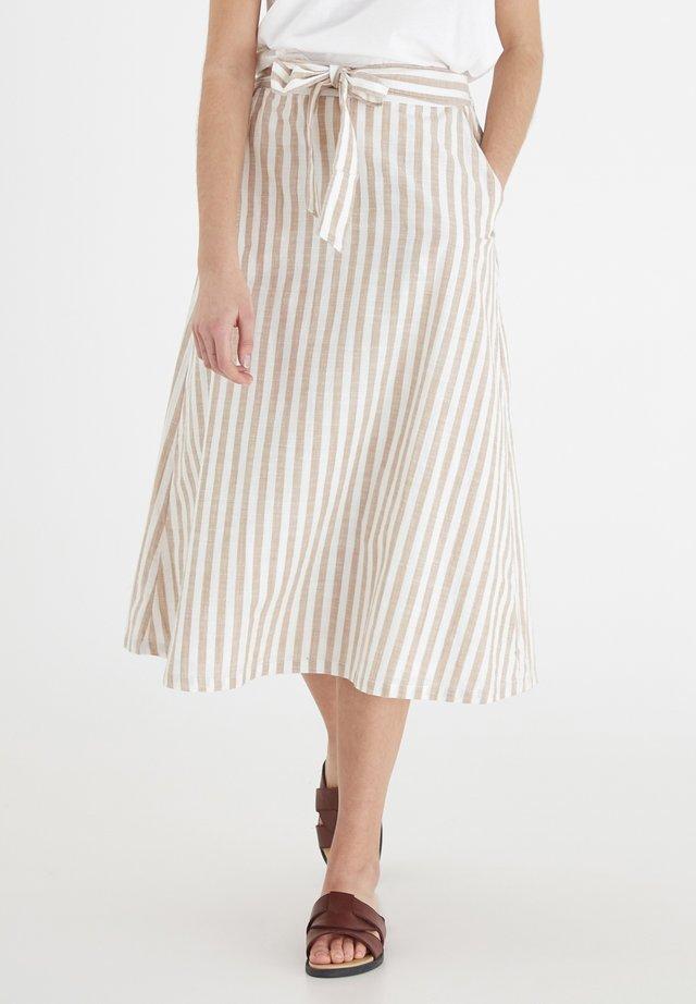 IHGRY SK4 - Spódnica trapezowa - beige