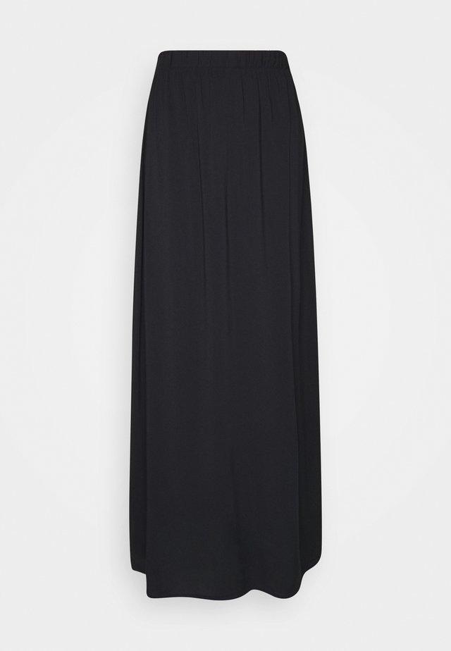 IHVERA - Maxi skirt - black