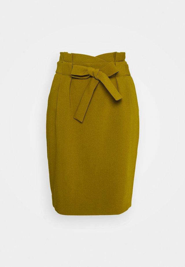 IHUDELE - Pouzdrová sukně - fir green