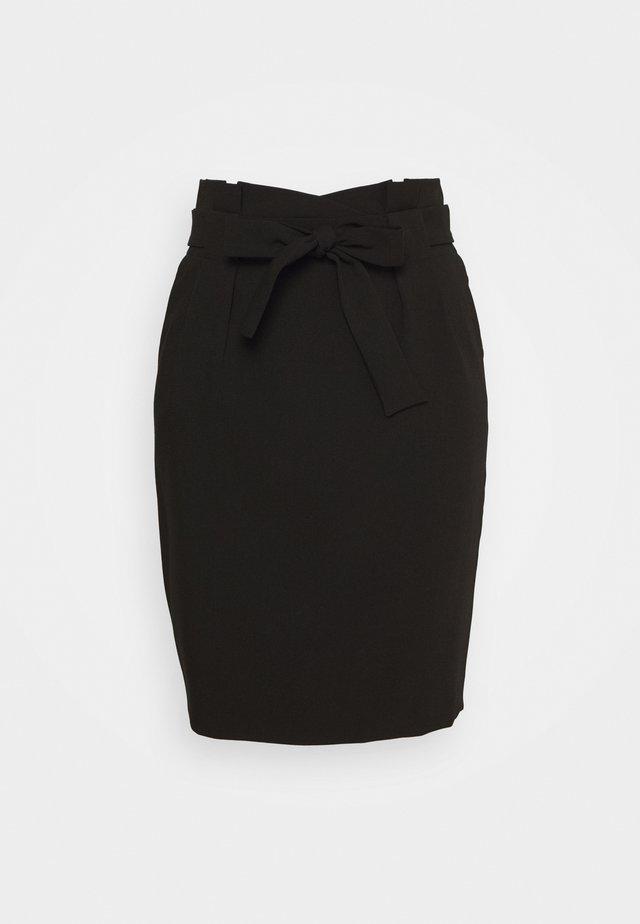 IHUDELE - Pouzdrová sukně - black
