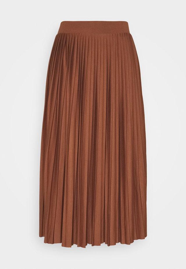 A-line skirt - cappuccino
