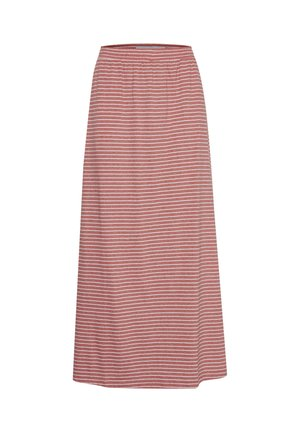 IHMOTO - A-line skirt - small stripe faded rose