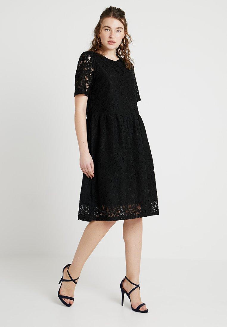 ICHI - IXCAMORA - Vestido de cóctel - black