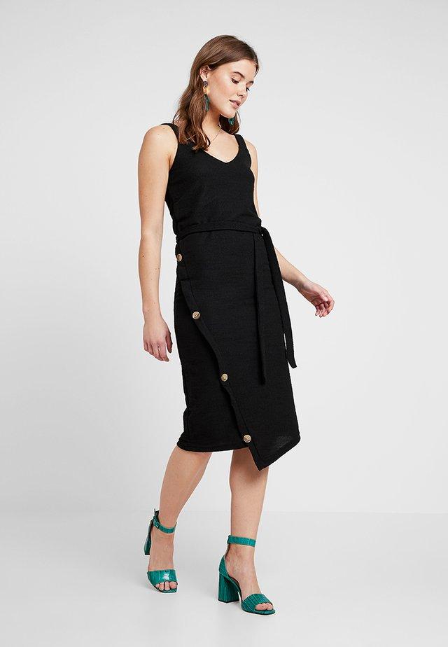 ALABAMA DRESS - Žerzejové šaty - black