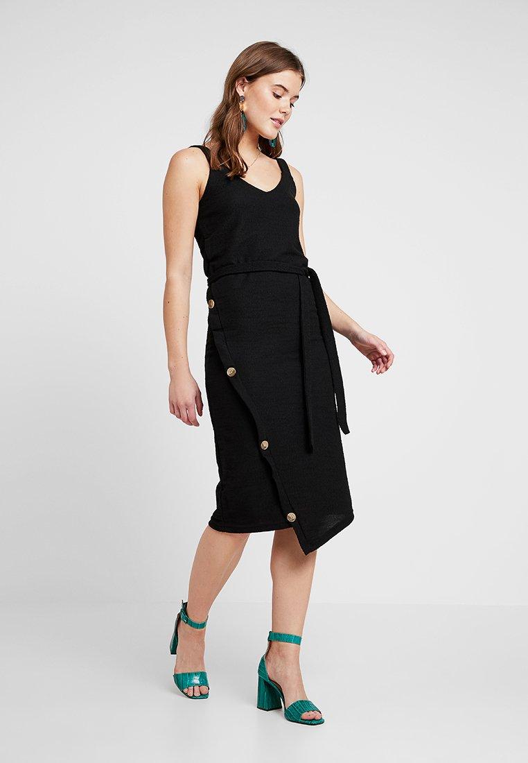 ICHI - ALABAMA DRESS - Vestido ligero - black