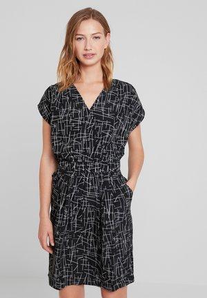 BRUCE - Robe d'été - small stripe black
