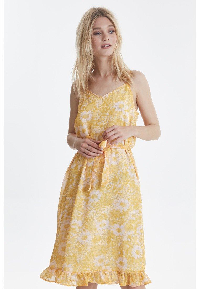 ICHI - IXDAGY - Day dress - yellow