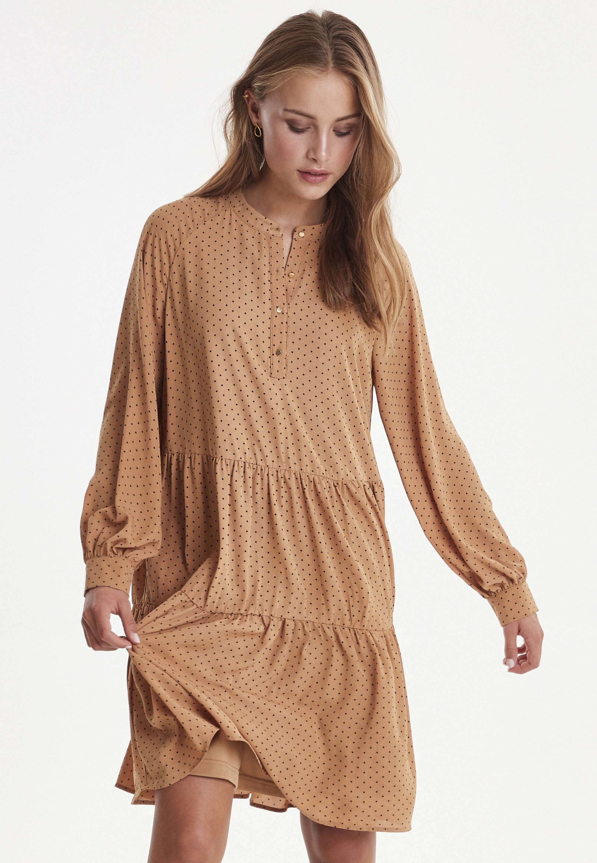 ICHI IXDARMA  - Sukienka letnia - brown