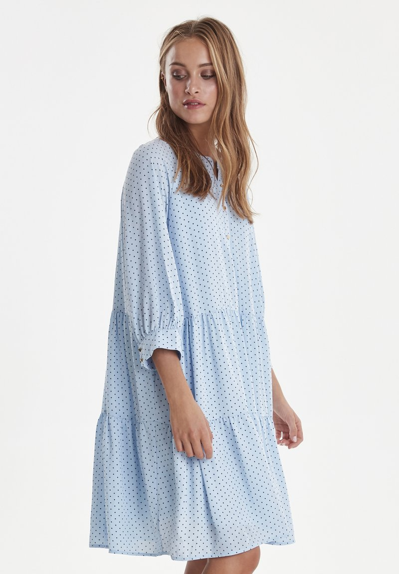 ICHI - Day dress - polka dot