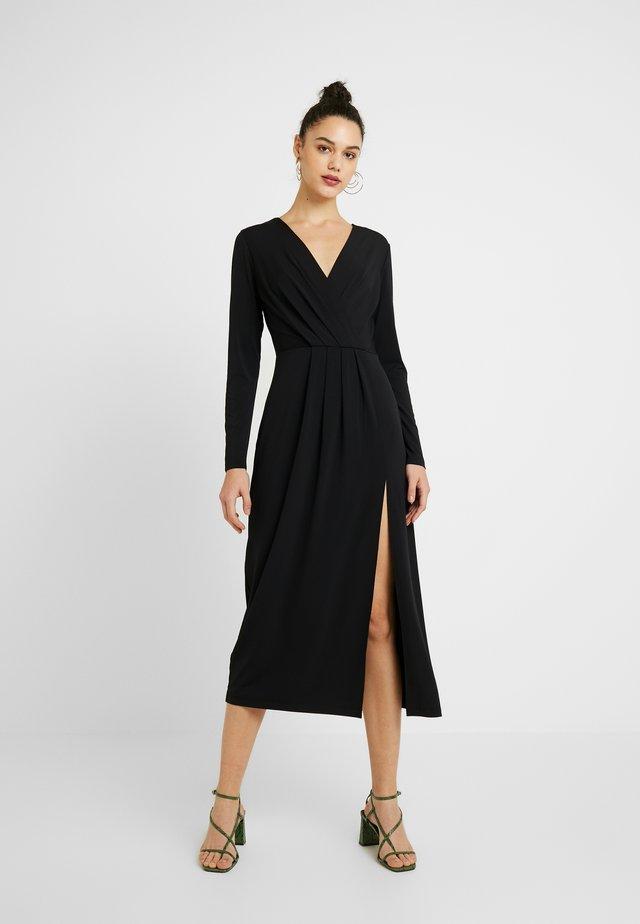 XILVIA - Robe en jersey - black