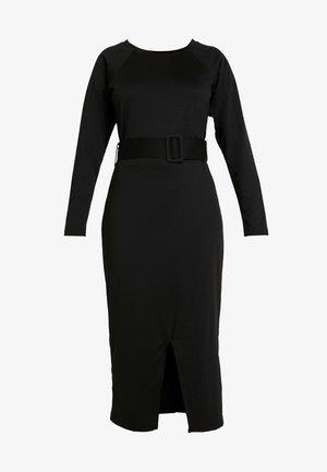 KATE BELT - Sukienka etui - black