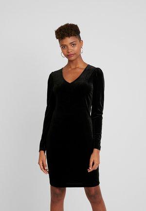 VELVET - Robe fourreau - black
