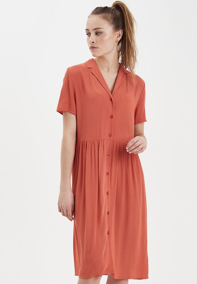 IHINNA - Robe chemise - summer fig
