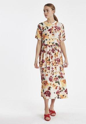 IHBRUNSA DR2 - Shirt dress - tapioca