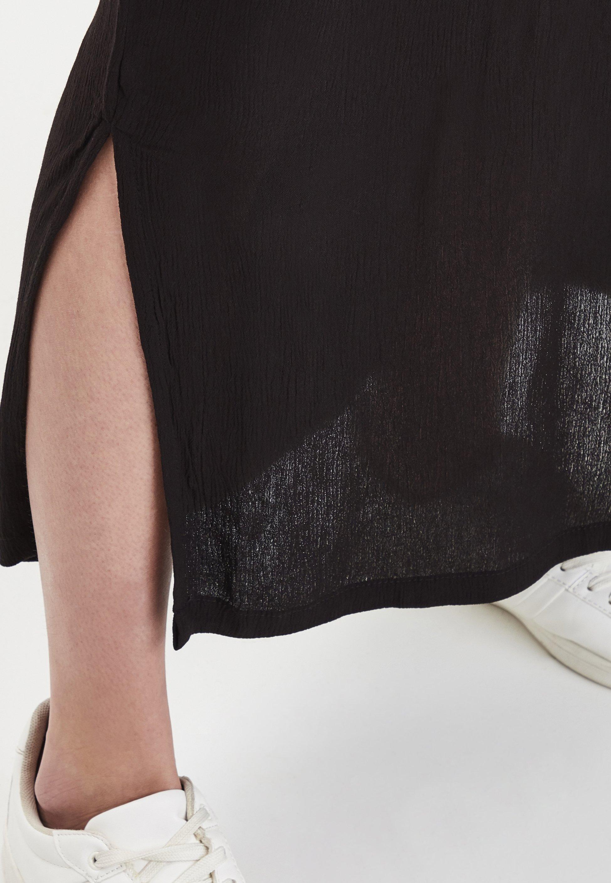 ICHI IHMARRAKECH - Długa sukienka - black