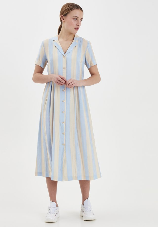 IHTIFFANY DR2 - Shirt dress - cashmere blue
