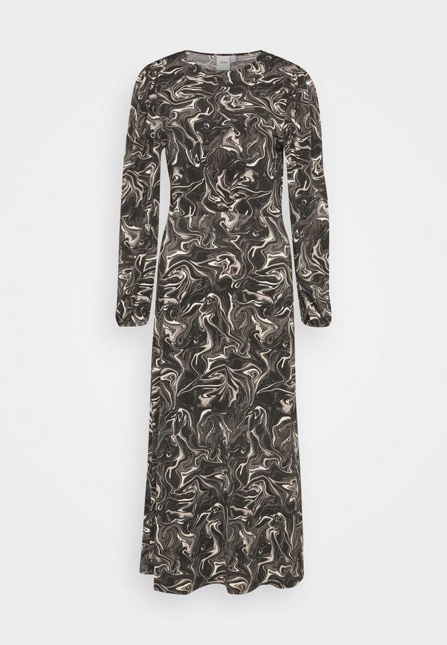 KIRSTA - Sukienka z dżerseju - asphalt