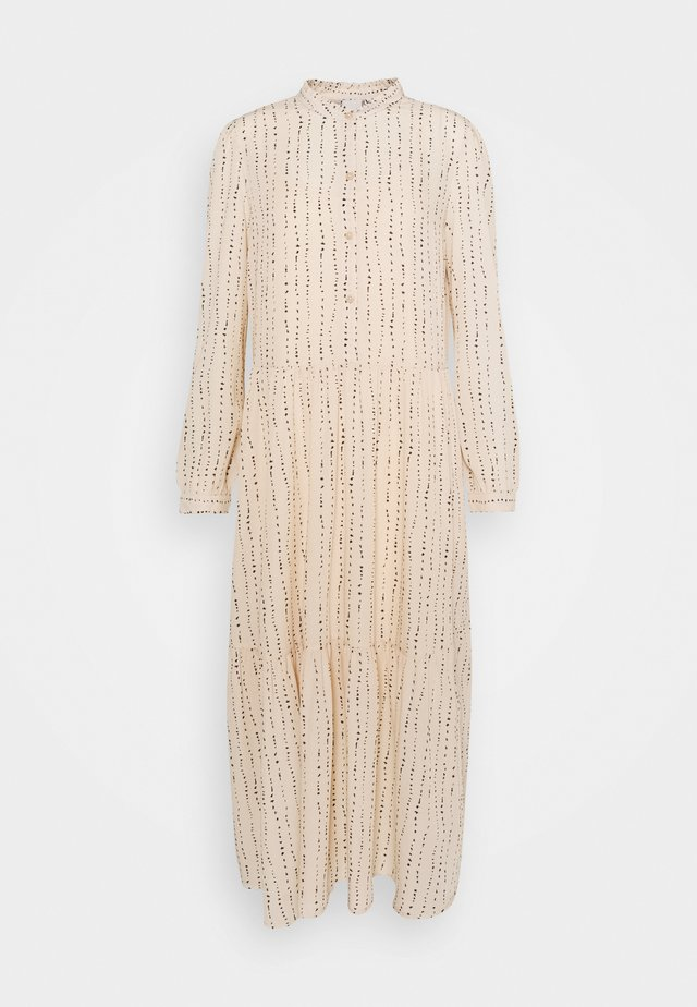 Maxi šaty - tapioca