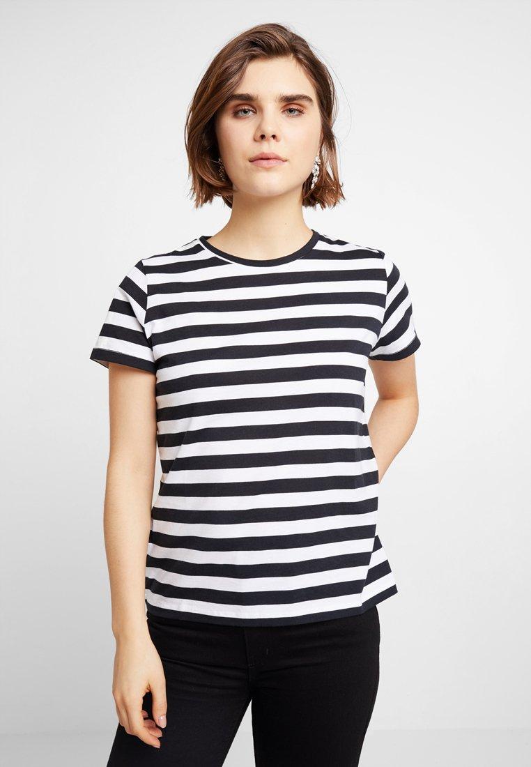 ICHI - IXRONJA  - Camiseta estampada - black