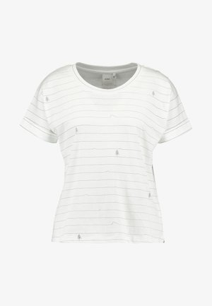 KAIA - Camiseta estampada - cloud dancer