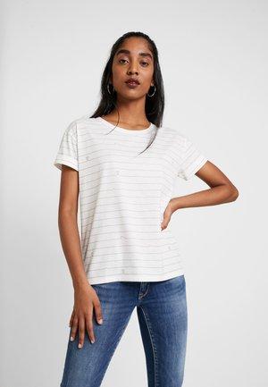 KAIA - Print T-shirt - cloud dancer
