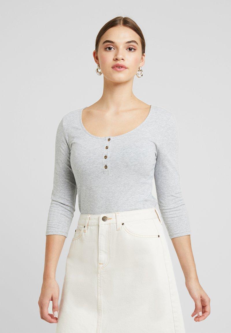 ICHI - IHTHERESA - Long sleeved top - grey melange