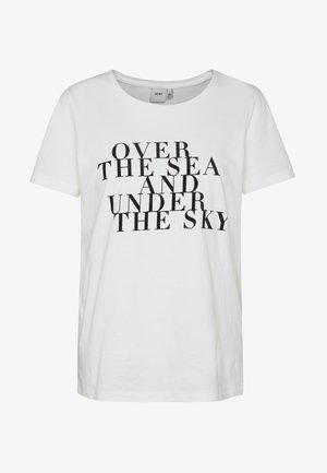 IHCAMINO SS2 - T-shirts print - cloud dancer