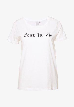 CAMINO - Print T-shirt - white