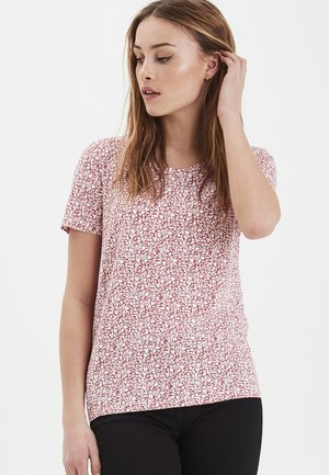 IHLISA  - T-shirts print - Baroque Rose