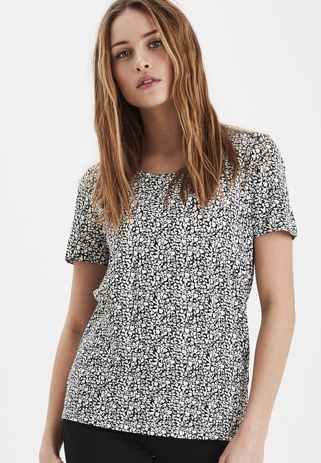 IHLISA  - T-shirts print - black