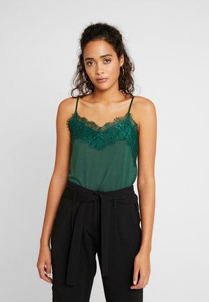 LIKE - Top - dark green