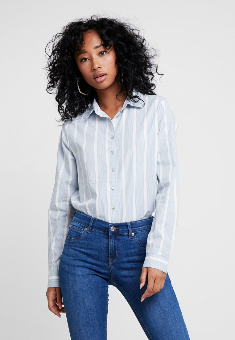 ICHI - IHELIN - Button-down blouse - blue shadow