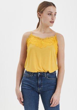 IHLIKE  - Top - buff yellow