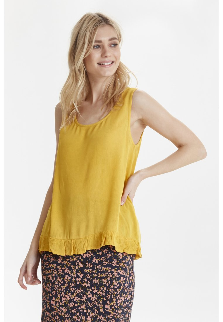 ICHI - IHMARRAKECH - Blouse - old gold